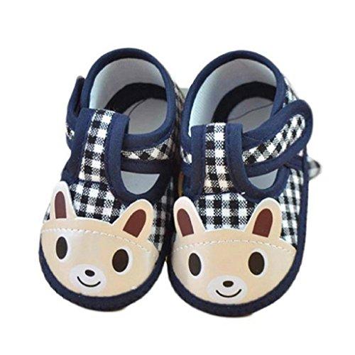 e1d6d998d4ce2 Chaussures de bébé Auxma Nouveau-né bébé garçon Lovely Cartoon souple  unique berceau Toddler Shoes
