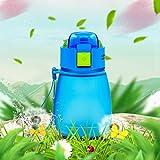 Ustensiles de cuisine Bouteille d'eau pour enfants en plastique de qualité alimentaire, capacité: 308 ml Vie pratique (Couleur : Bleu)