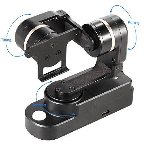 Preisvergleich Produktbild Gowe 3-Achsen-/Mini-Achsen Gimbal tragbar Handheld Stabilisator für GoPro Hero 4Session und gleichen Form Action Kameras