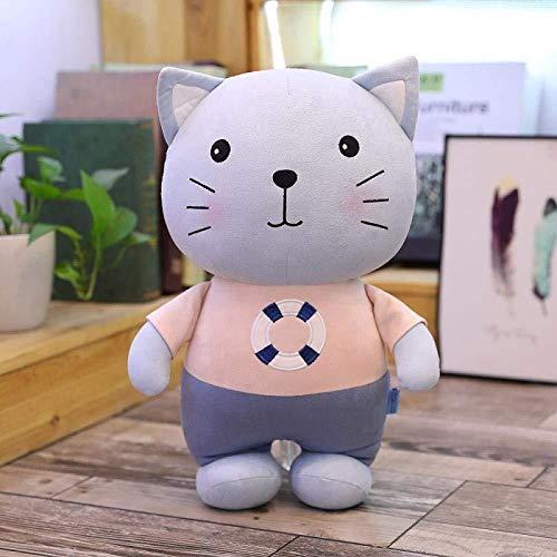 INGFBDS Simpatica bambola gatto e topo peluche gattino mascotte ratto bambola bambola regalo di compleanno ragazza 45 cm