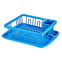 lionstar Dish Rack with Tray, Multi-Colour