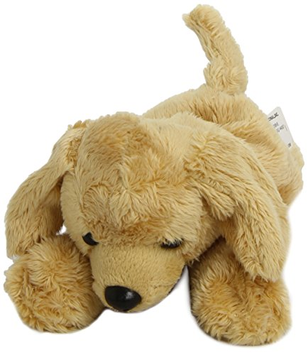 Wild Republic 80653 - P&C peluche perro Labrador (18 cm), color amarillo