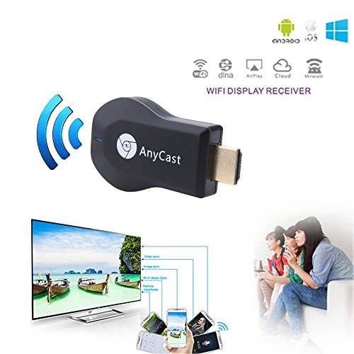 Samsung Galaxy S5 Active, S5 Plus, S5 Mini, S5 Neo Compatiable Hdmi Dongle Any Cast Hdmi Dongle Wireless Media Stream Mini PC TV Multi-Standard support: Miracast, DLNA, Airplay, Wifi Support By TechJazz