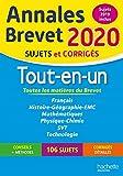 Annales Brevet 2020 Tout-en-Un...