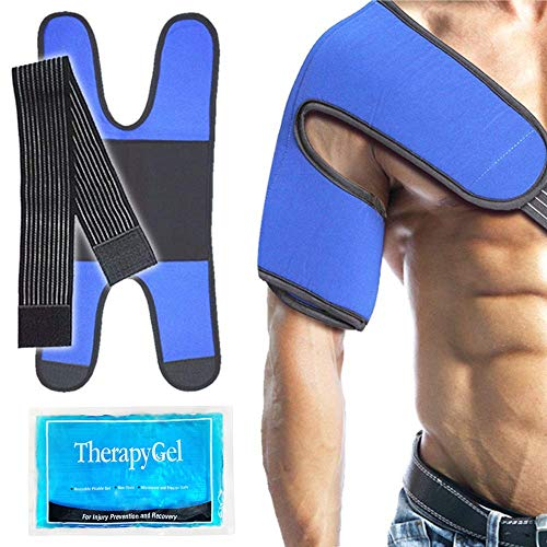 Kalt-Warm Kompresse Schulter Coolpack Kühlkissen kühlpads - Ideal für Schulter Sport Verletzungen, Bursitis, Gelenkschmerzen, Arthritis Schmerzen, Stämme, Verstauchungen -