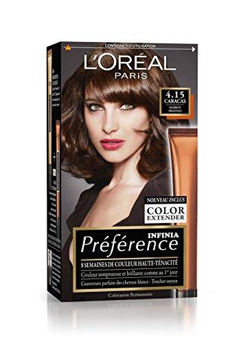 Préférence L'Oréal Paris Coloration Permanente 4.15 Marron Profond