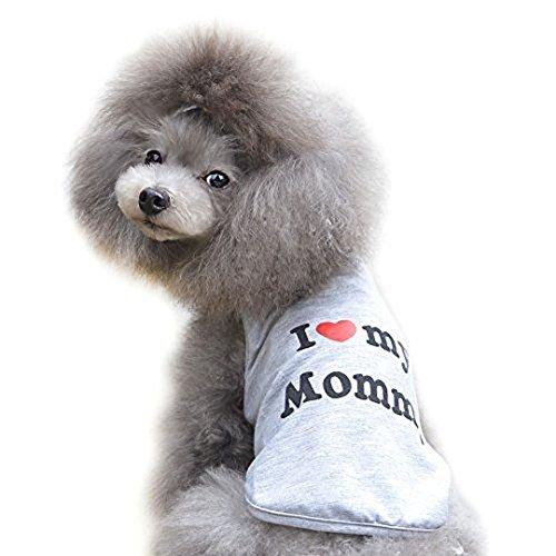 T-shirt Ducomi Pets Love - Pour chien et chat - En coton