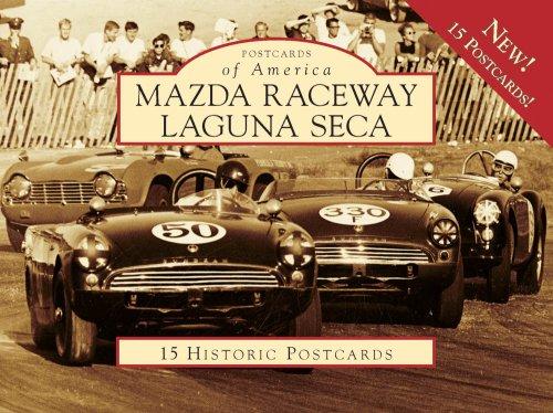 Mazda Raceway Laguna Seca: 15 Historic Postcards (Postcard of America) por Butch Noble