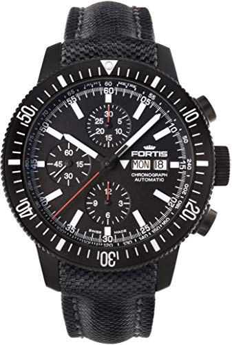Fortis B-42 Monolith 638.18.31.LP Automatic Mens Chronograph PVD-plated