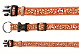 Trixie Modern Art Halsband Mojave, M–L: 35–55 cm/20 mm, beige/orange