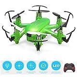Drone con Videocamera HD Elicottero RC 2.4G 6 Assi 3D Flip WiFi FPV Trasmissione modalità Senza Testa Quadcopter Giocattolo per Ragazzi Ragazze Bambini Amici Natale Compleanno Regalo età 9