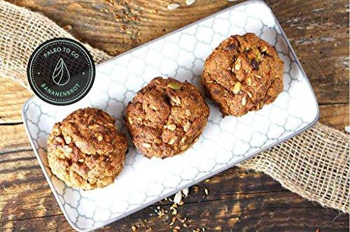 PALEO Brot-Backmischung: Kastanie & Mandel | Bio | Vegan | Getreidefrei, Gluten-frei | Eiweissbrot - 20% Protein | ohne Zuckerzusatz | Hergestellt in DE | Paleo To Go | Ergibt 4 Brote (1.8 kg) - 6