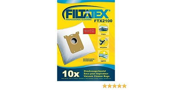 10 x FILTATEX sacs aspirateur alternative pour AUCHAN AUC219 / auchan AUC219+ / auchan 219+ / auchan 219eco - auchan auc219+: Amazon.fr: Cuisine & Maison