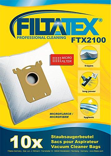 10 x FILTATEX sacs aspirateur Electrolux ergospace dust magnet hepa 12 / electrolux dust magnet hepa 12