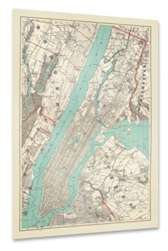 artboxONE Poster 150x100 cm Städte Städte / New York Reise