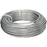 BriTools M86126G - Cable acero galvanizado (3 mm) color galvanizado