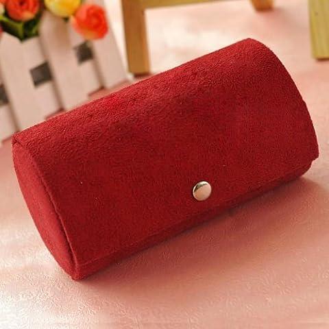 TOOGOO(R) Bracelet Bague Collier Boucle d'Oreille Presentoir Case de Stockage