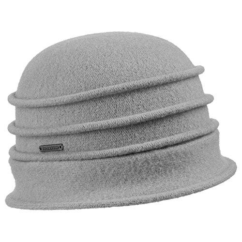 Chapeau en Laine Woolmark Seeberger gris clair