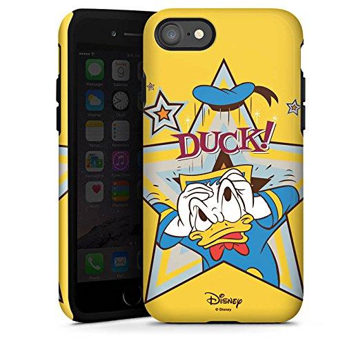 Apple iPhone X Silikon Hülle Case Schutzhülle Disney Donald Duck Fanartikel Geschenk Tough Case glänzend