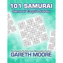 Samurai 13-grid Sudoku: 101 Samurai