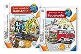 Ravensburger tiptoi Set - Unterwegs mit der Feuerwehr und Komm mit auf die Baustelle - 9120063892082