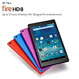 All-New Fire HD 8 Tablet, 8 HD Display, Wi-Fi, 16 GB (Black) - Includes Special Offers