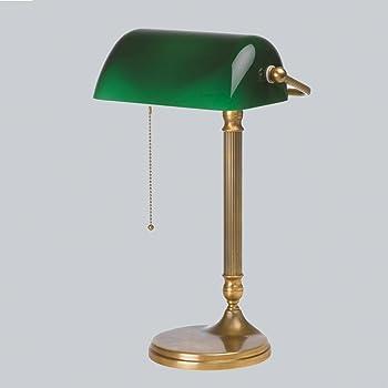 Led Banker Bankers Lamp Bibliothek Bank Leuchte Schreibtisch Lampe