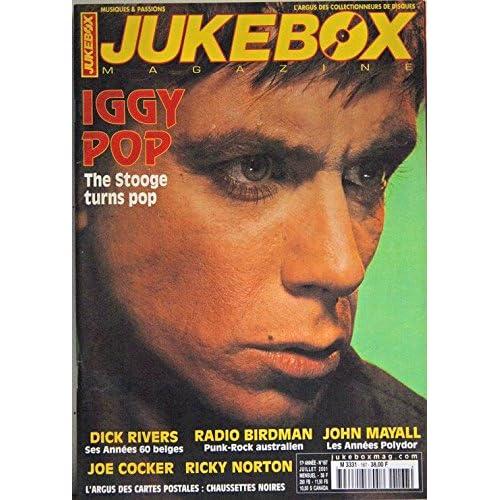 Iggy Pop - Dick Rivers - John Mayall - Joe Cocker - Ricky Norton - Poster Beach Boys - Michel Berger - D'où viens tu Johnny Hallyday - Françoise Hardy - Radio Birdman