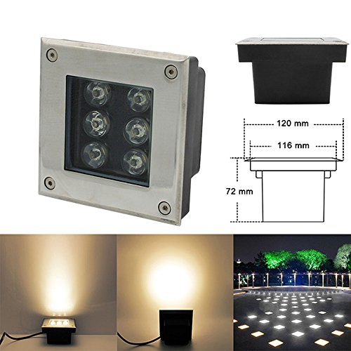 LED Foco Empotrable al Aire Libre 230V IP67 Impermeable LED Empotrable en...
