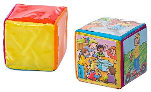 Betzold  86901 Taschenwürfel für 15 cm Karton, mehrfarbig, 16 cm