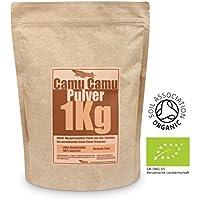 Nutri Up - Camu Camu Pulver 1Kg | Natürliches Vitamin C, ohne künstliche Zusätze :: Rohkostqualität aus Peru ::