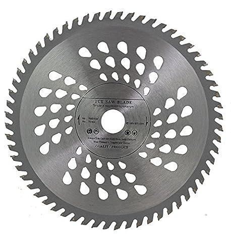 Lame de scie circulaire de qualité supérieure (Skill) 185 mm de scie pour disques de coupe de bois circulaire 185 x 20 x 60T