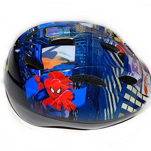 Fahrrad Helm Spiderman einstellbar Disney Kinder