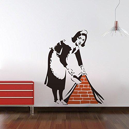 asenart-banksy-maid-sweeping-il-pavimento-in-vinile-da-parete-adesivi-per-soggiorno-camera-dimension