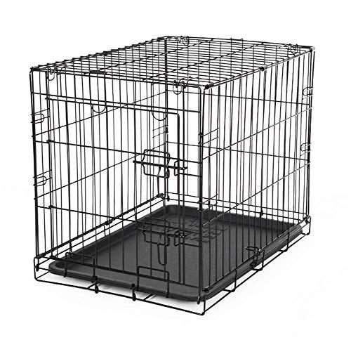 HYFZY Box para el Transporte de Perros, Gatos, Altavoces, Jaula de Metal...