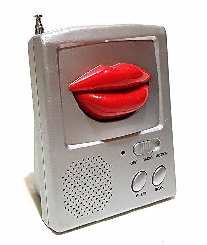 Tragbares Kult Kiss me AM FM Radio Küchenradio Arbeit Garten Zuhause Unterwegs Batteriebetrieben NEU (Am / Fm Radio Batteriebetrieben)