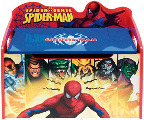 Baúl de Juguetes Spiderman