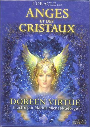 L'oracle des anges et des cristaux : Avec 44 cartes par  (Coffret produits - Mar 12, 2019)