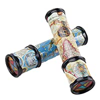 1pcs Magic Kaleidoscope Toy Kaleidoscope 3d Mirrored Party Favors Long Classic Stretchable Kaleidoscope Toy Educational Science Toys for Adults Children (random Color)