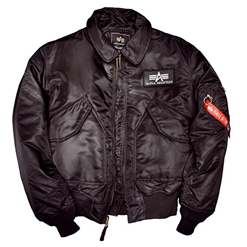 Alpha Industries CWU 45 Flight Jacket, Größe:XL;Farbe:black