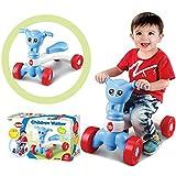Wokee Dreirad für Kinder,Fahrrad Kleinkind Walker Baby Balance Spielzeug,50x27x37cm,Kinderspielzeug Erstes Fahrrad Lernlaufrad Kinder Auto (Blau)