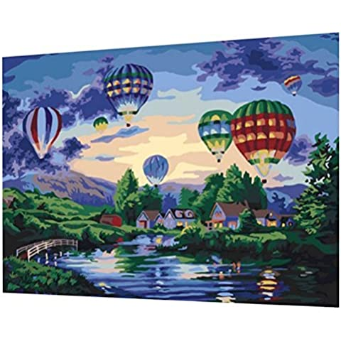 BlueTop PaintWorks Painting By Number Kit Balloon Glow by BlueTop