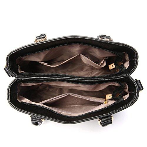 Lady Lychee Muster Schultertasche Handtasche Handtasche Atmosphäre Mode Einfache Handtasche D