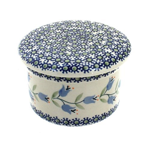 polish-pottery-tulip-french-butter-dish-by-blue-rose-pottery