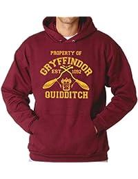 Señoras para Hombre Propiedad Unisex de Sudadera con Capucha Gryffindor Puente con Capucha Harry Potter