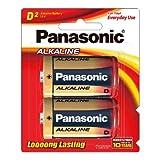Best D Batteries - Panasonic Battery Alkaline LR20T/2B D-Size LR20 Battery Review
