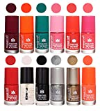 Best Nail Polish Neon Colors - Aroma Care Insta Dry 12 Pcs Nail Polish Review