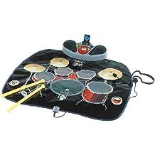 Playtastic Musikmatte: Schlagzeug-Matte mit Drumsticks und Karaoke-Funktion (Kinder Musik Matten)