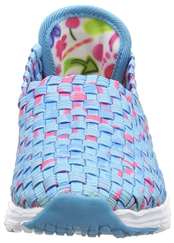 Desigual SHOES_CAMPING, Chaussons fille Bleu (5103 AZUL ATOLL)