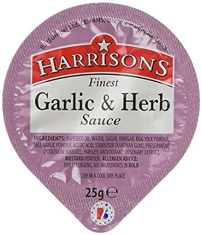 Harrisons Garlic and Herb Sauce Dip Pot Box 25 g